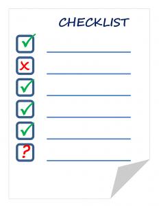 checklist-911840_1280