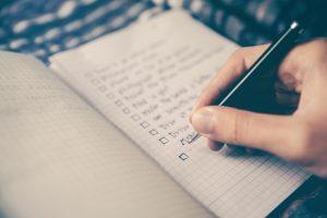 Family Checklist